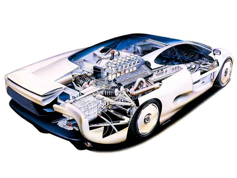 Jaguar XJ220 Concept '1988