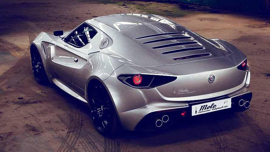 Alfa Romeo Mole Costruzione Artigianale 001 Is A One-Off Coachbuilt 4C