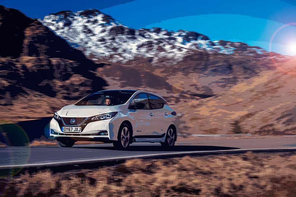 2019 Nissan Leaf 40kwh - first UK-version model road test