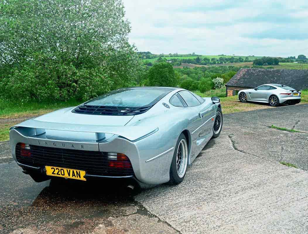 Jaguar XJ 220 and F-Type SV Rare Jaguar's only 200mph supercars