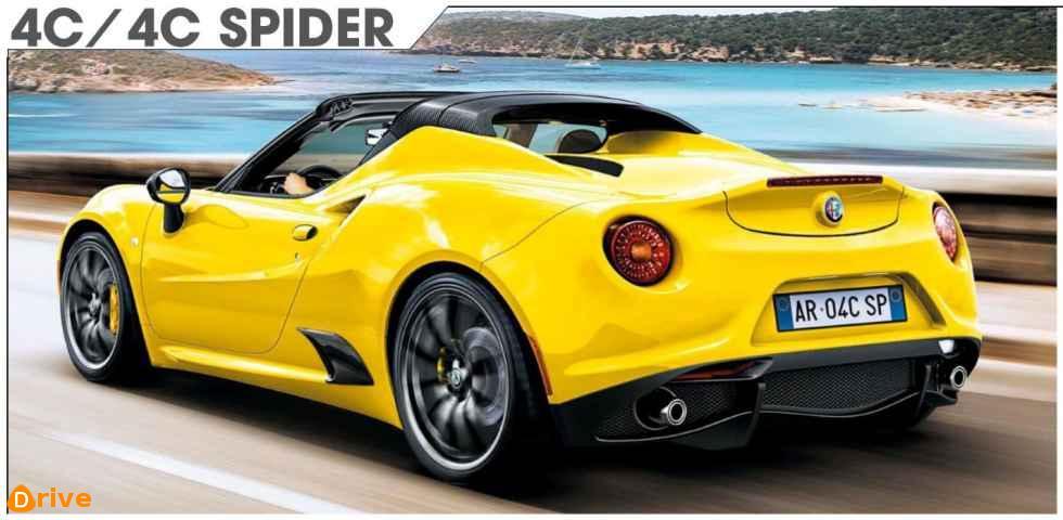 2019 Alfa Romeo 4C 4C Spider