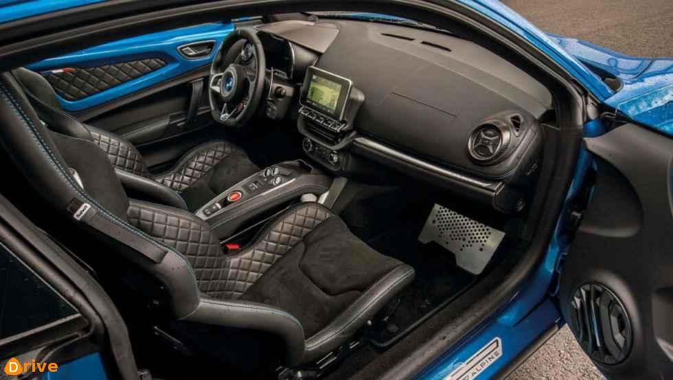 2019 Renault Alpine A110 interior