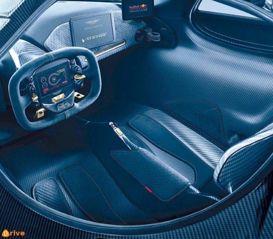 2019 Aston Martin Valkyrie carbon interior