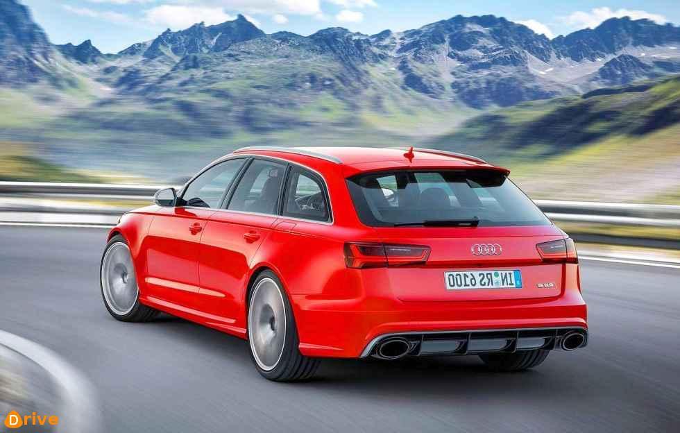 2019 Audi RS6 Avant rear bumper