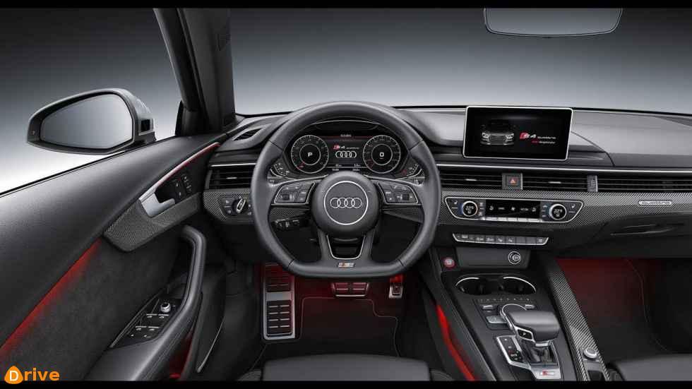 2019 Audi S4 interior