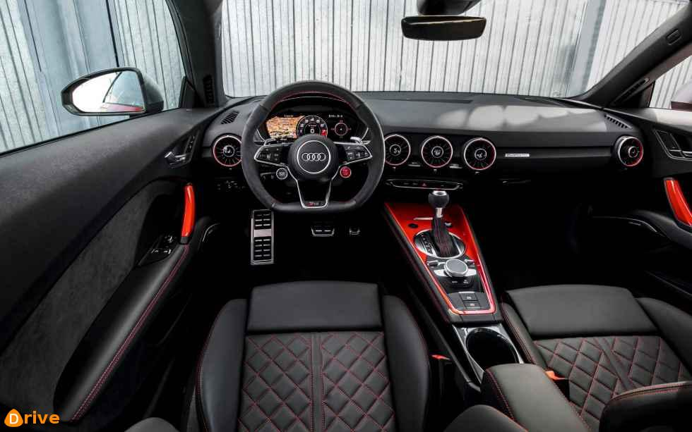 2019 Audi TTS interior