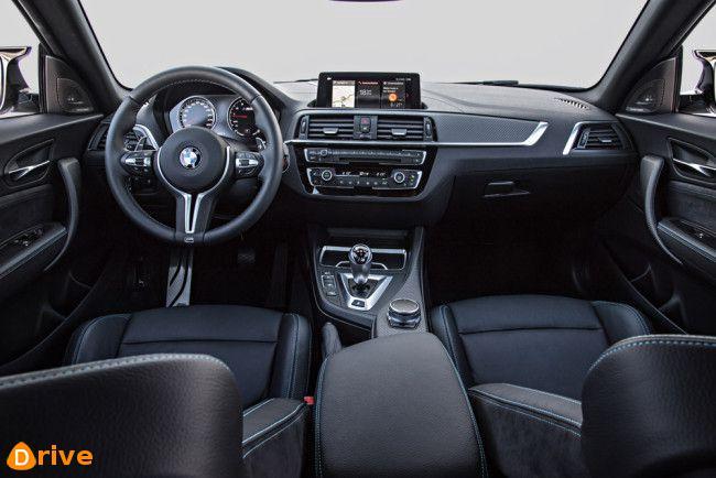 2019 BMW M2 competition interior
