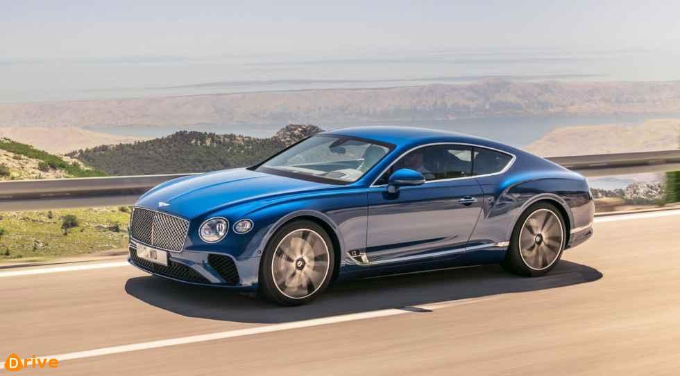 2019 Bentley Continental GT 01