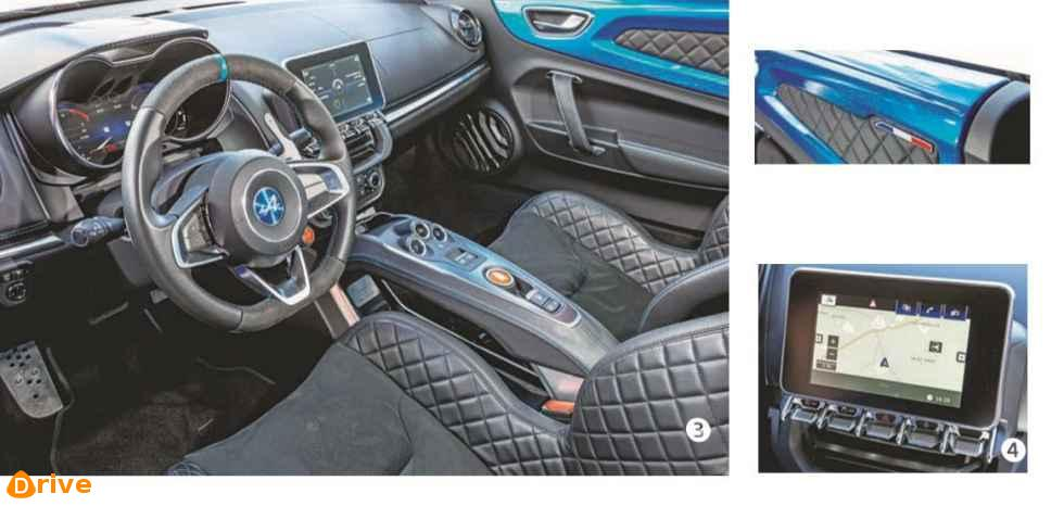 2019 Alpine A110 interior