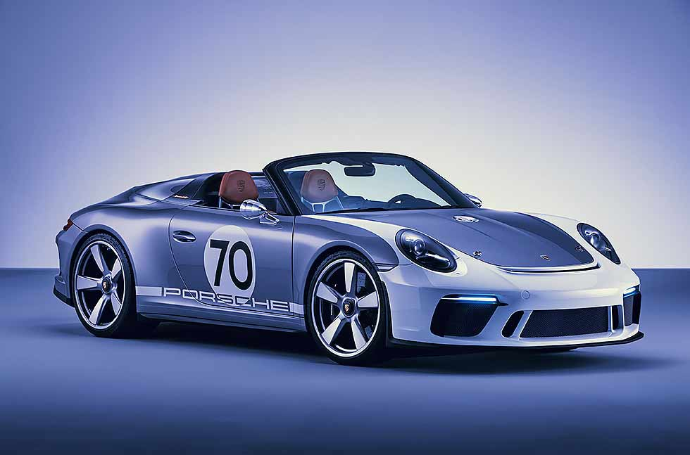 2019 Porsche 911 Speedster 991.2