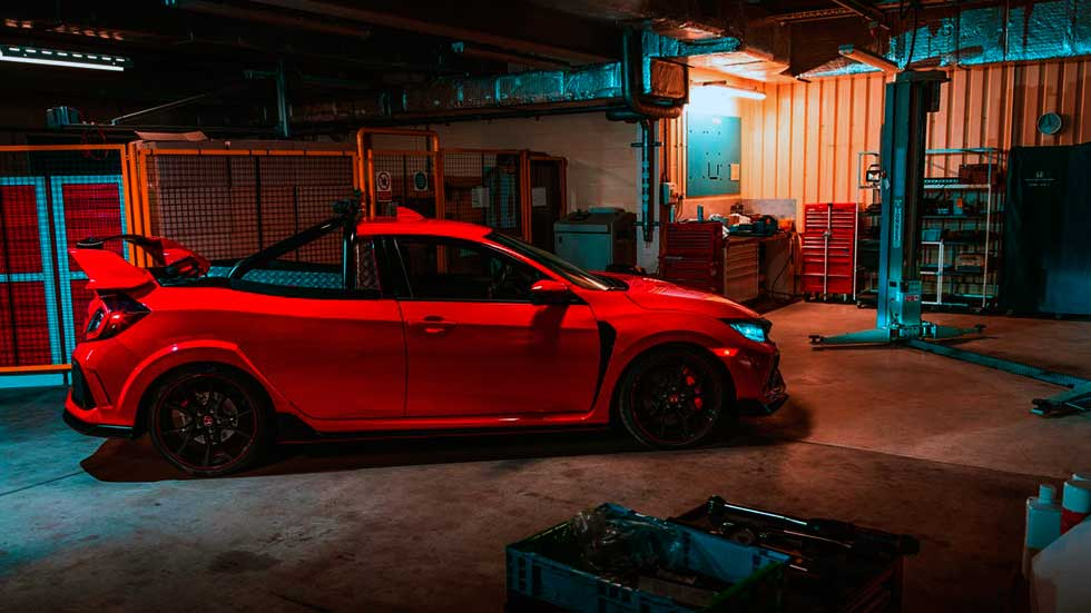 El Civicino: Synchro Motorsport builds a Honda Civic Type R pickup Pickup truck Civic is the most special of special projects