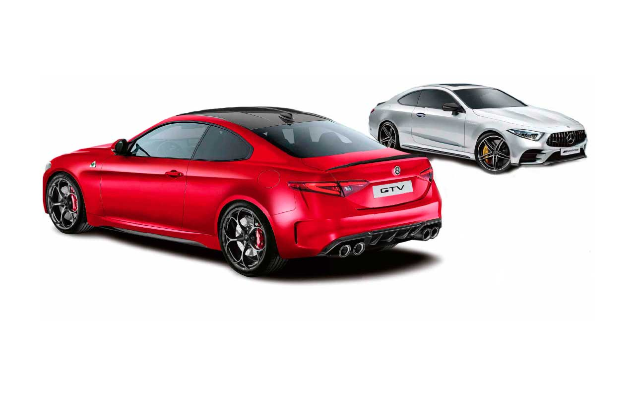 Super coupes assemble! Mercedes-AMG and Alfa Romeo prepare to take power to the next level