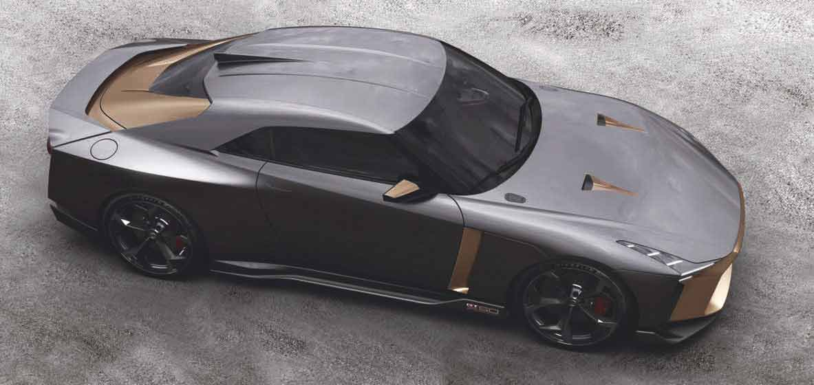 2019 Nissan GT-R Italdesign