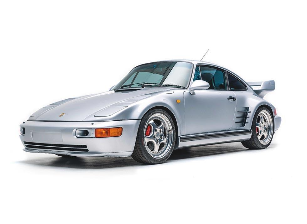 1993 Porsche 911 Turbo S 3.6 Flachbau Coupe X83 JP-spec 964