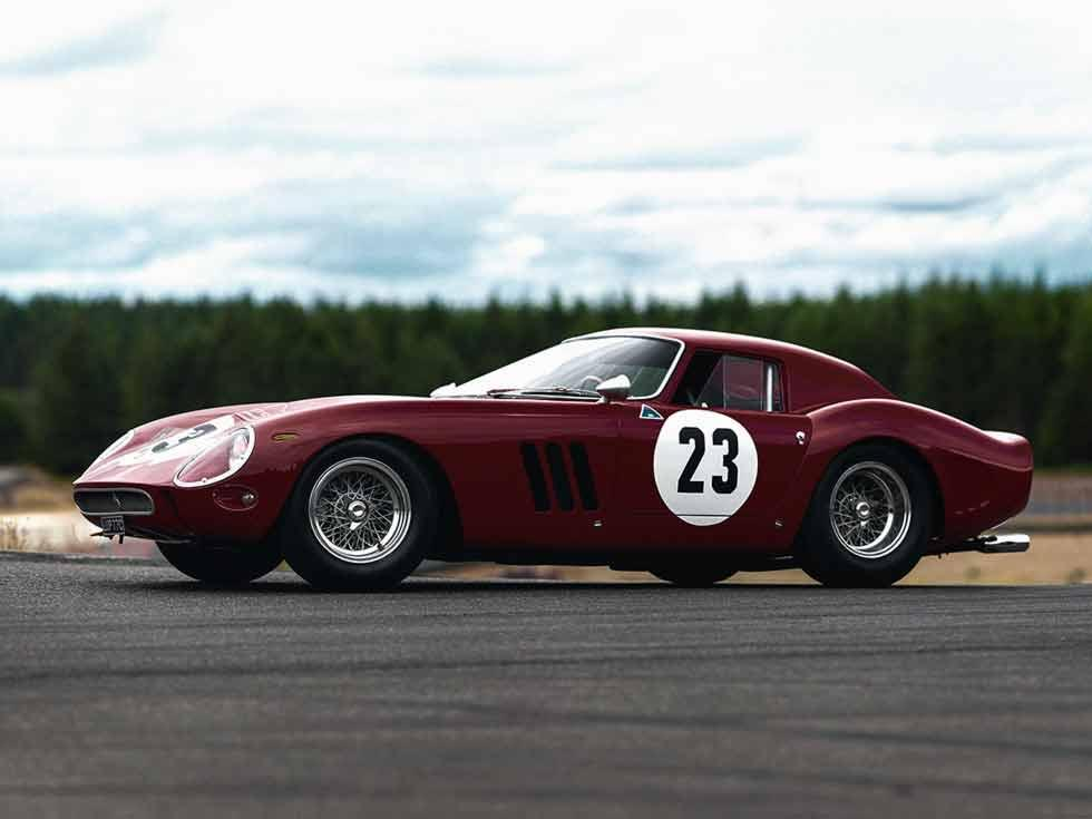 RM Sotheby's is to auction a 1962 Ferrari 250 GTO