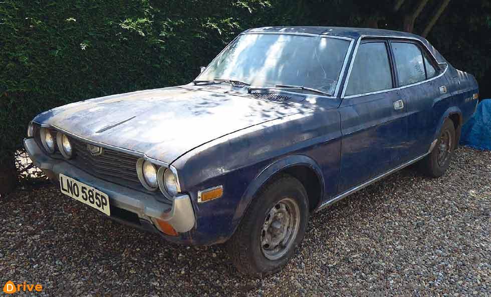 1973 Mazda 929 barn find