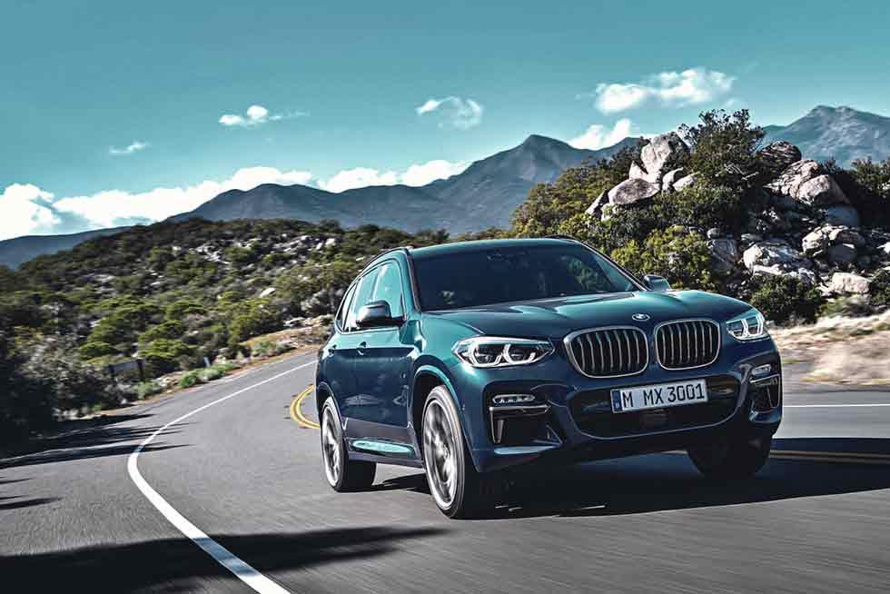 2019 BMW X3 M40d G01