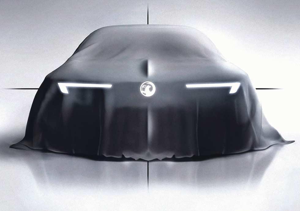 Vauxhall teases new family face