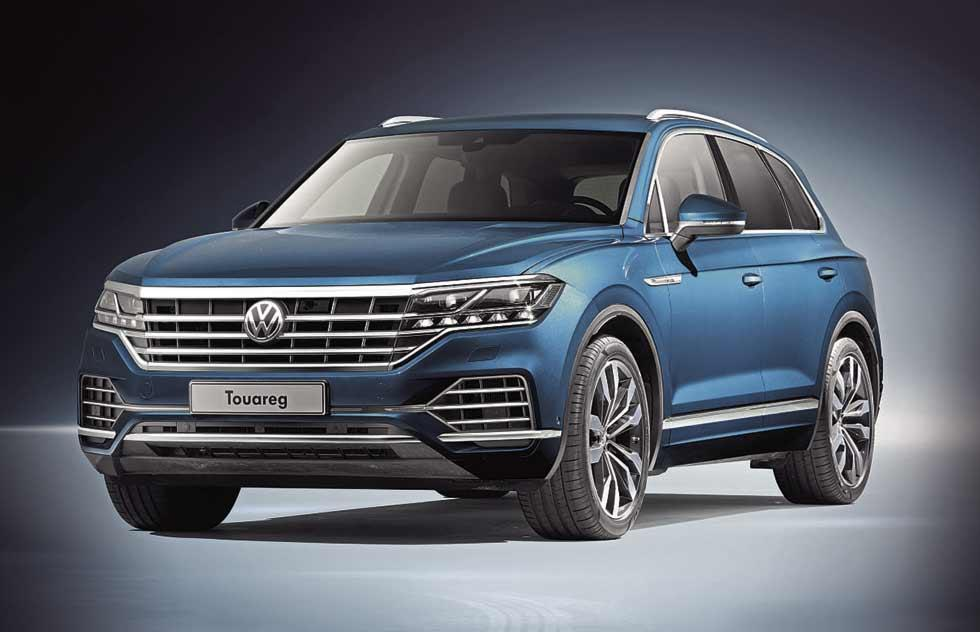 Volkswagen has opened the UK order books for the third generation 2018 Touareg