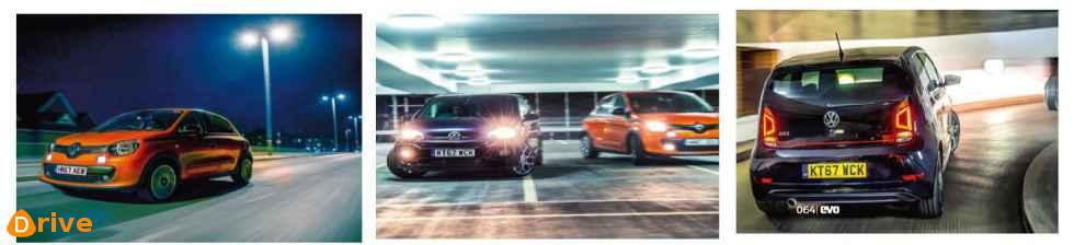 2019 Renault Twingo GT and VW UP GTI