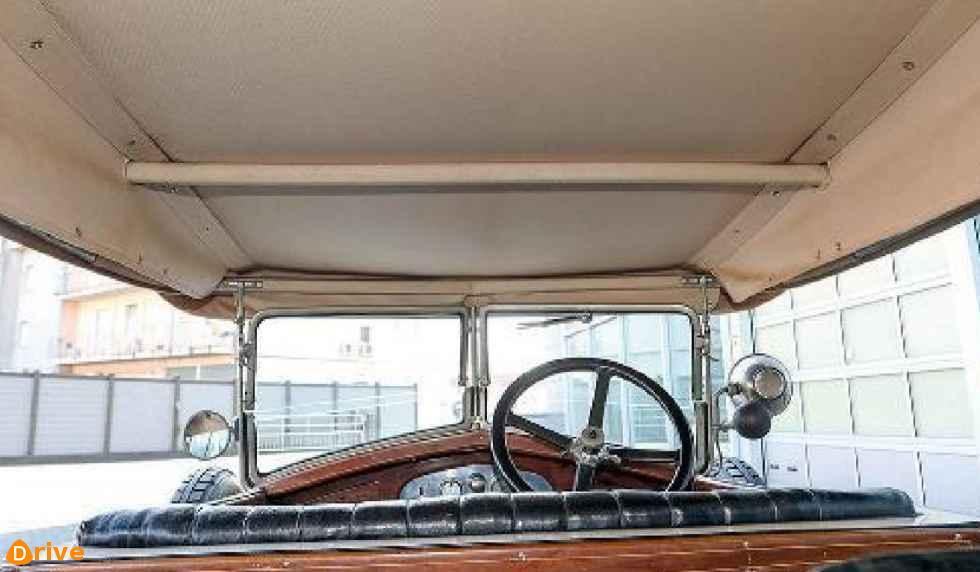 1924 Diatto Tipo 20A Torpedo salon