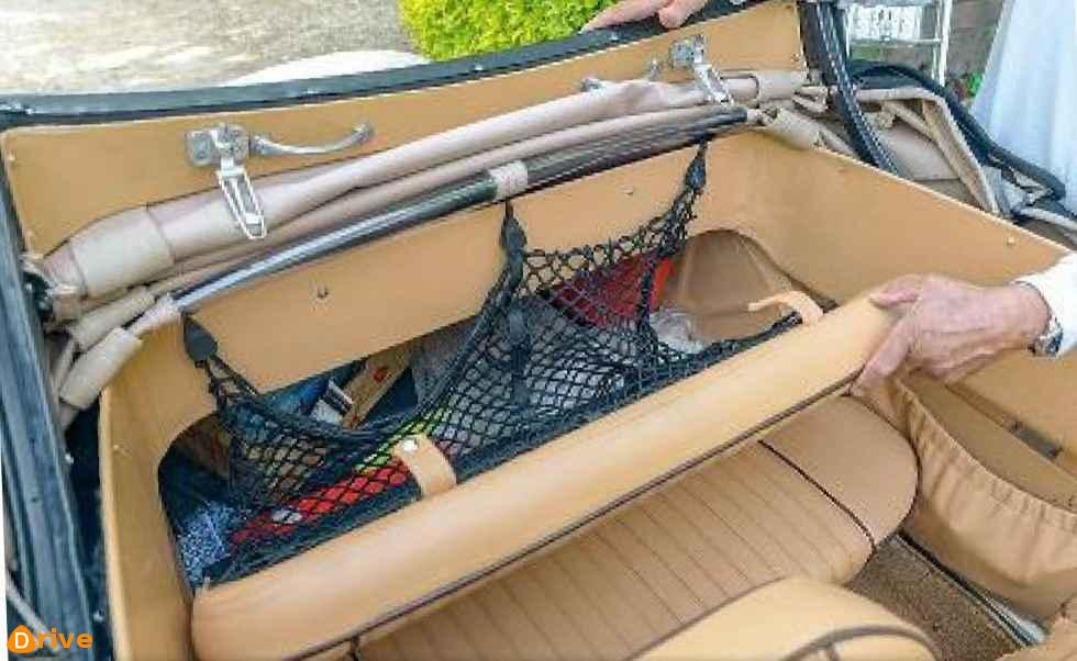 1951 Panhard Dyna X Cabriolet interior