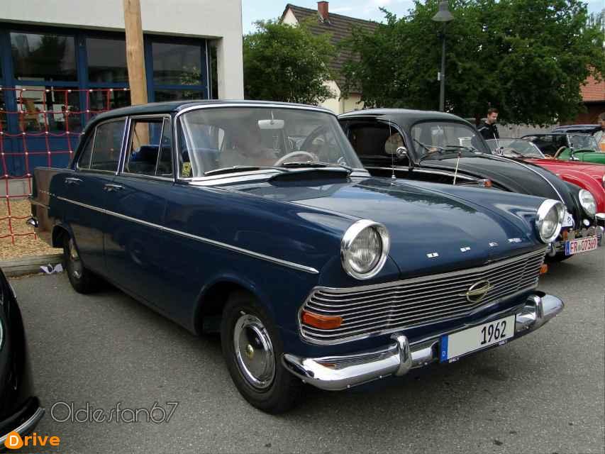 1960 Opel Rekord Quarte Portes front view