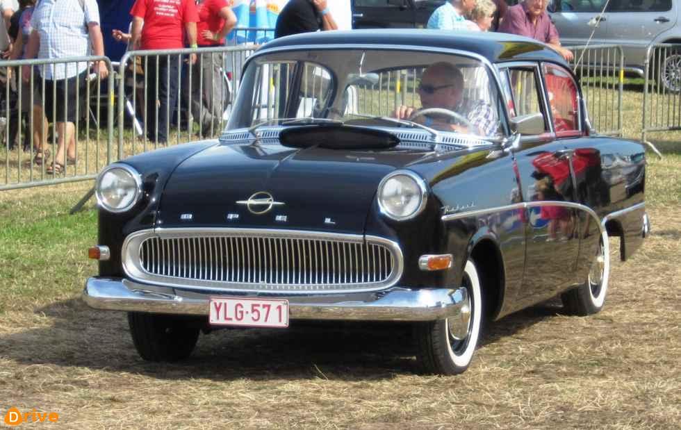 1960 Opel Rekord Quarte Portes