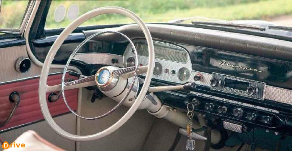 1960 Opel Rekord Quarte Portes interior