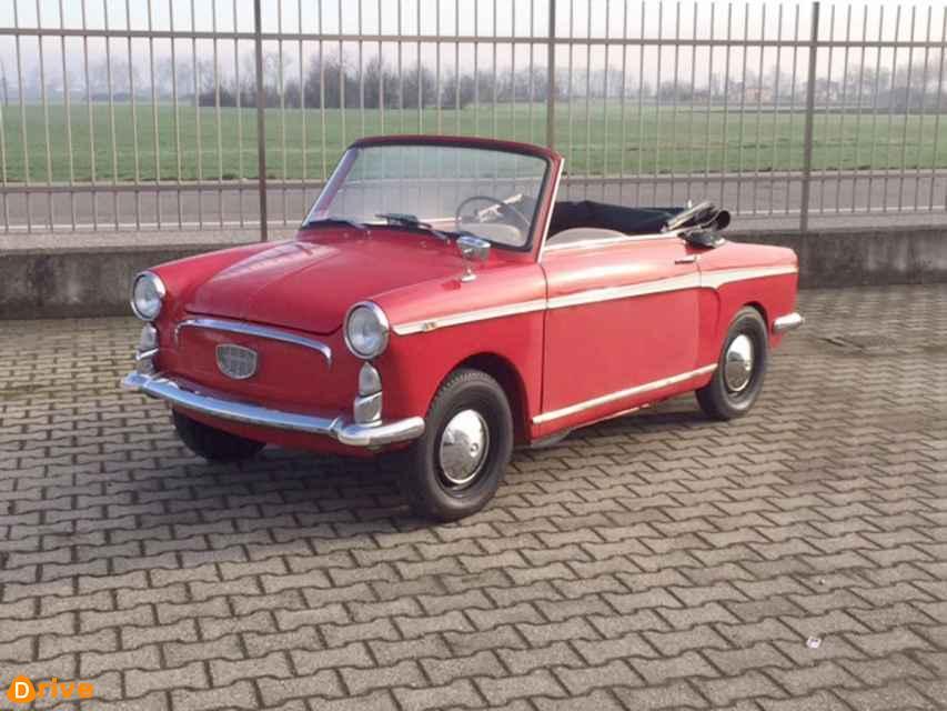 1962 Autobianchi Bianchina Cabriolet Eden Roc