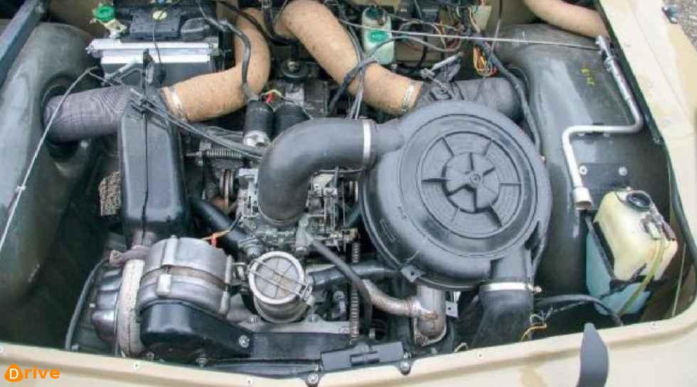 1975 Citroën Mehari engine