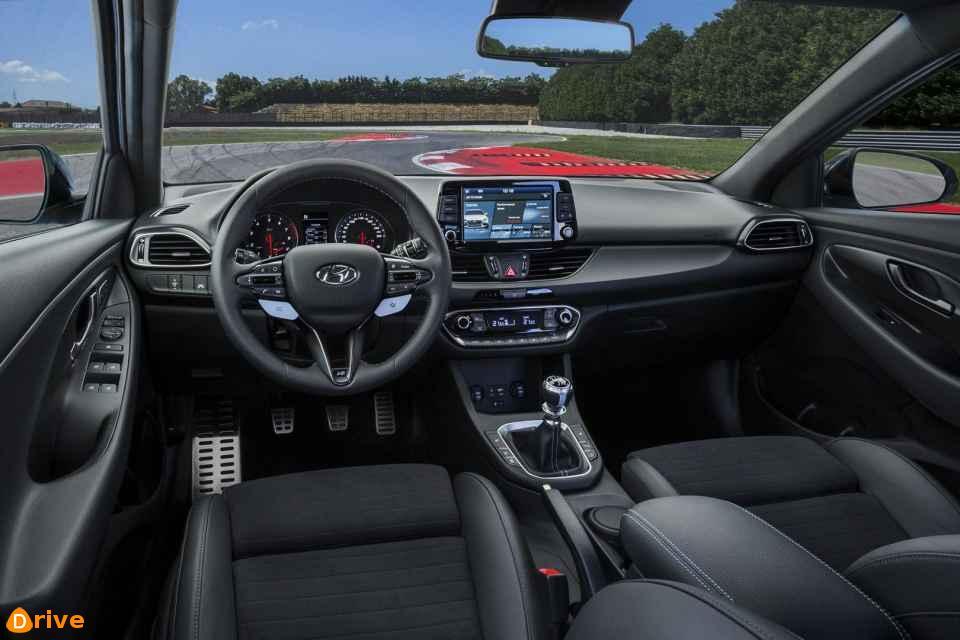 2019 Hyundai i30 interior