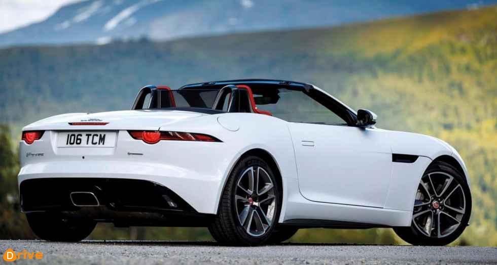 2019 Jaguar F TYPE convertible