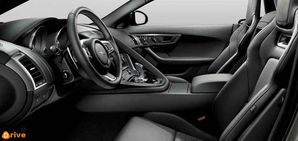 2019 Jaguar F TYPE coupe interior