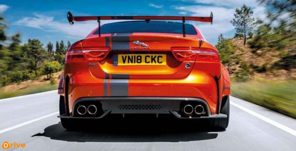 2019 Jaguar XE-S - rear bumper