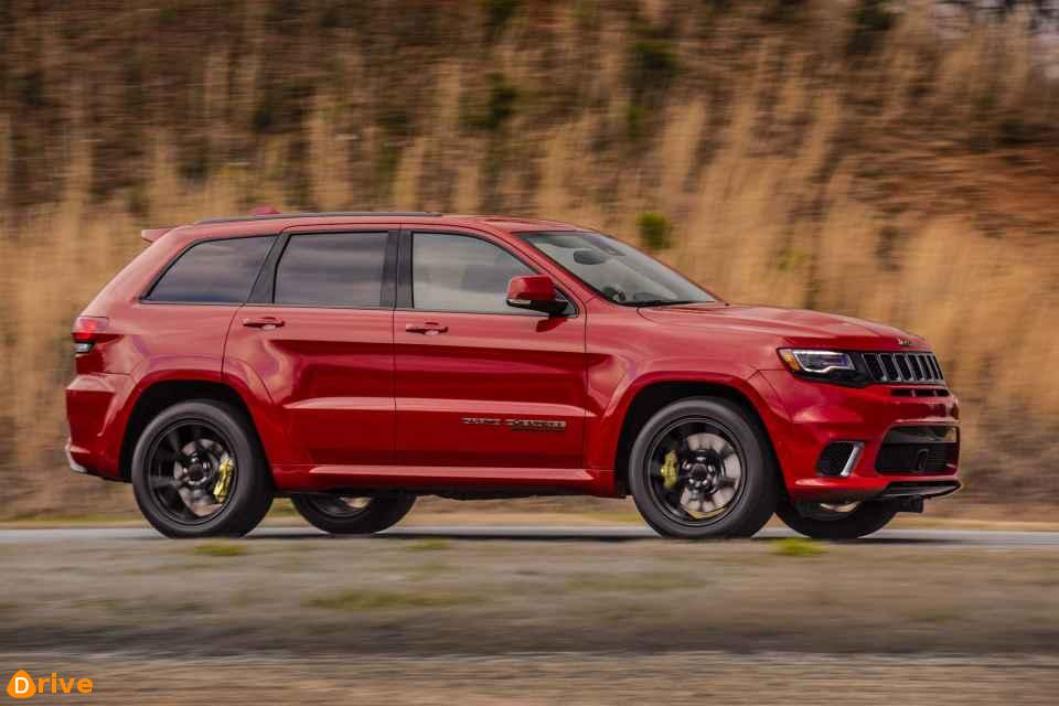 2019 Jeep Grand Cherokee SRT Voici le SUV