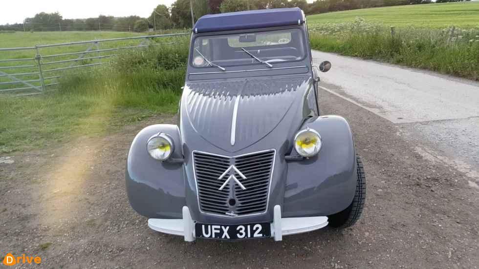 1959 Citroen 2cv AZL