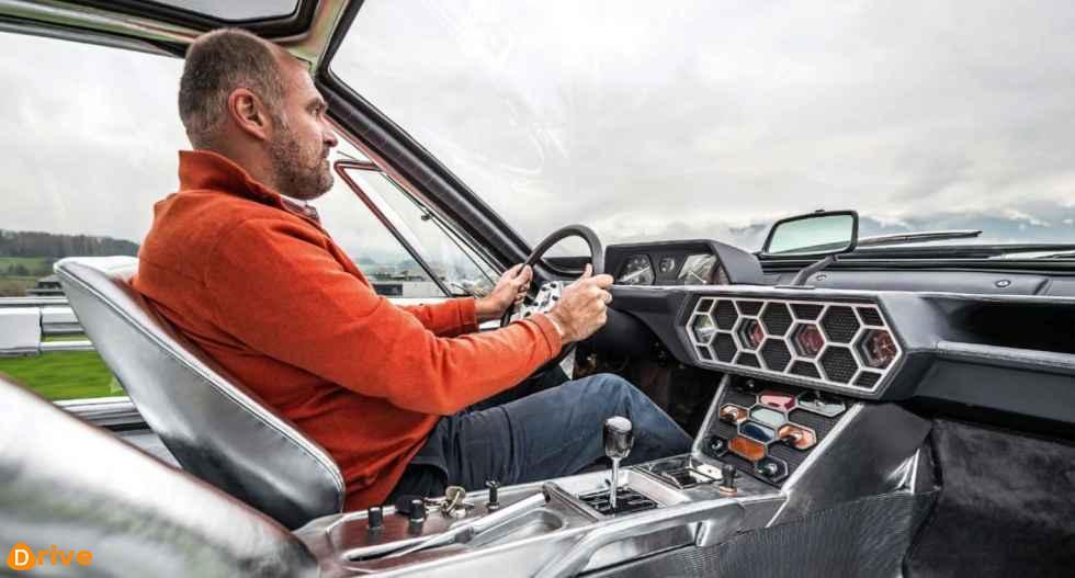 1967 Lamborghini Marzal driver