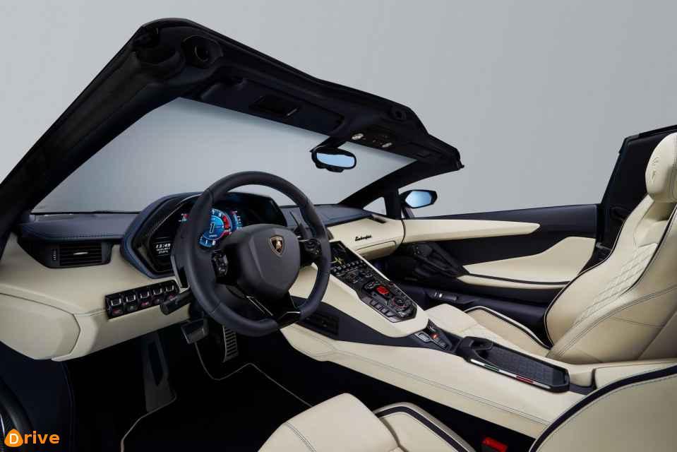 2019 Lamborghini Aventador S interior