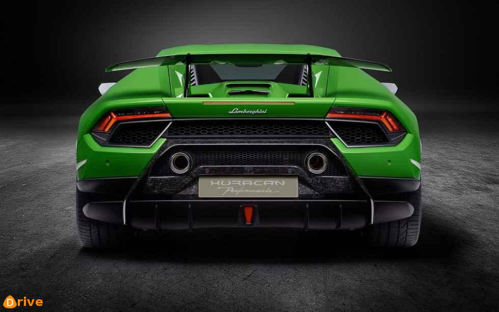 2019 Lamborghini Huracan back view