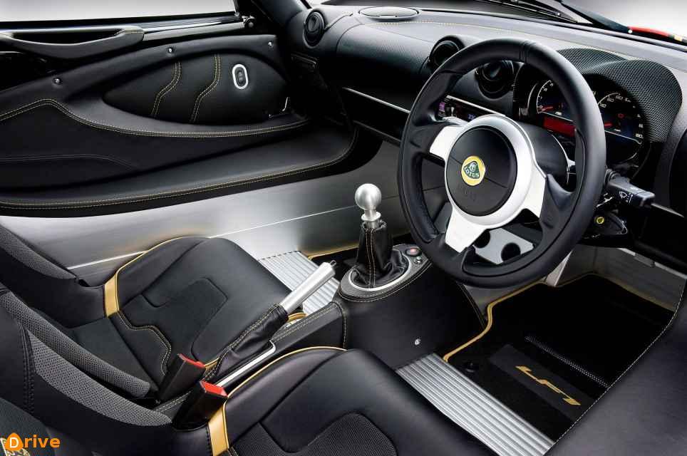 2019 Lotus Exige interior