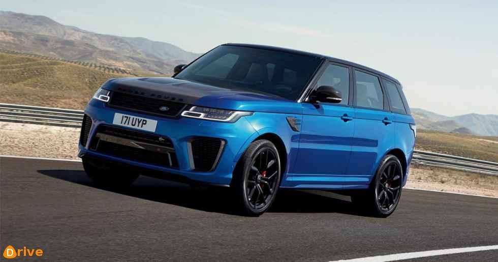 2019 Range Rover Sport SVR