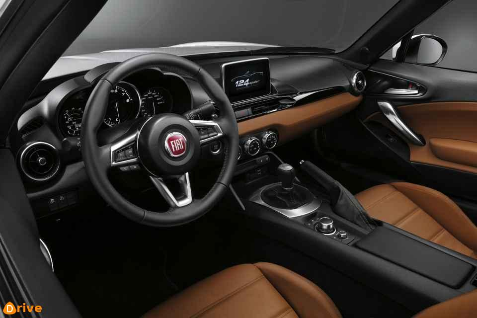 2019 Fiat Abarth 124 GT interior