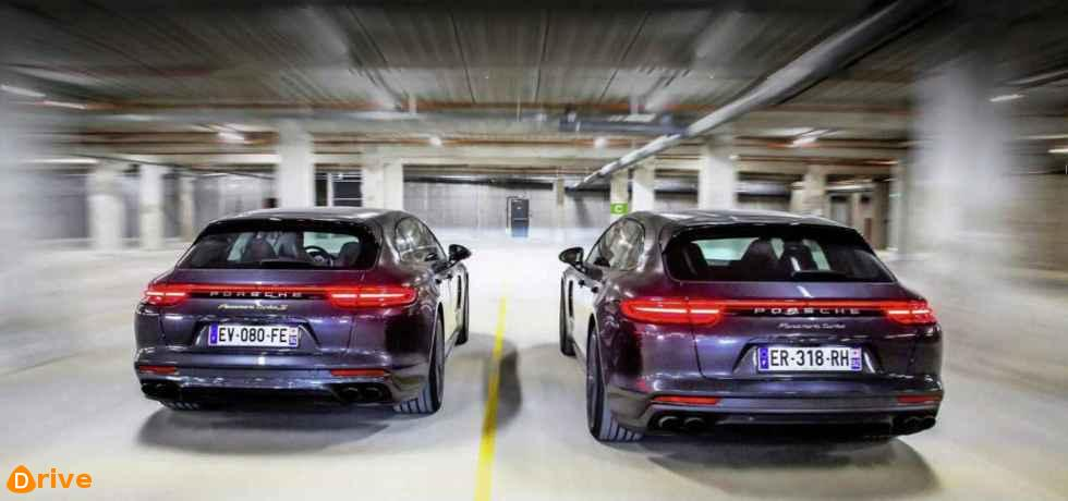 2019 Porsche Panamera Turbo Sport Turismo vs Turbo S E Hybrid Sport Turismo