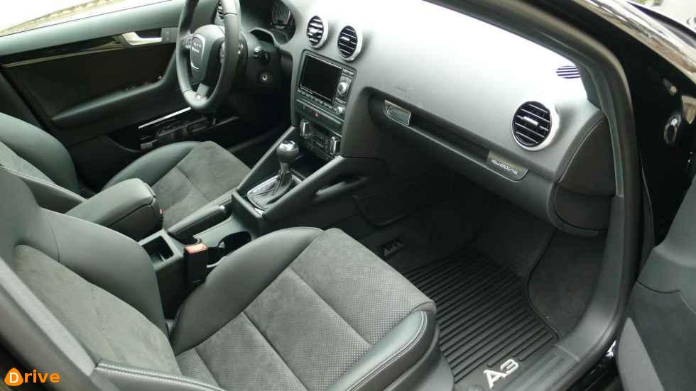 2012 Audi RS3 Mk1 interior