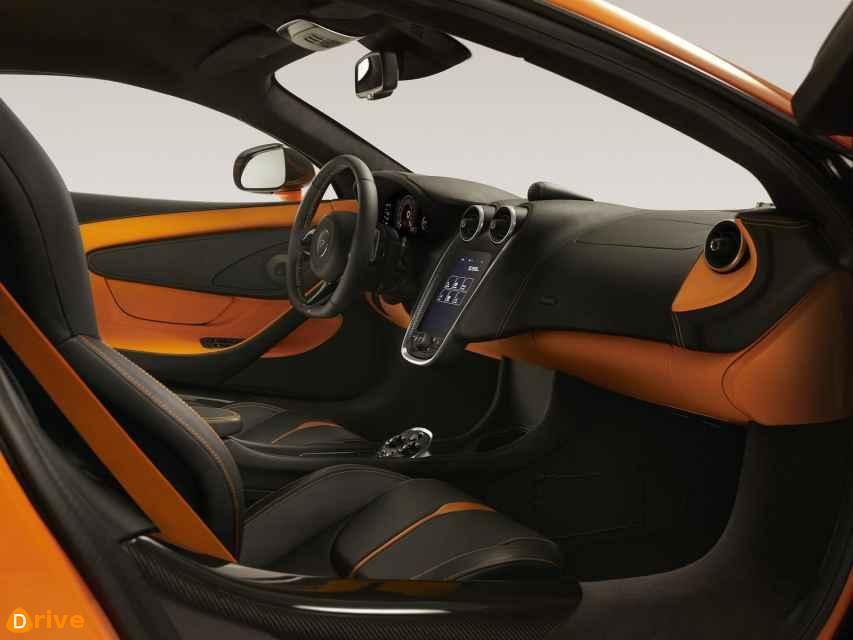 2019 McLaren 600LT interior