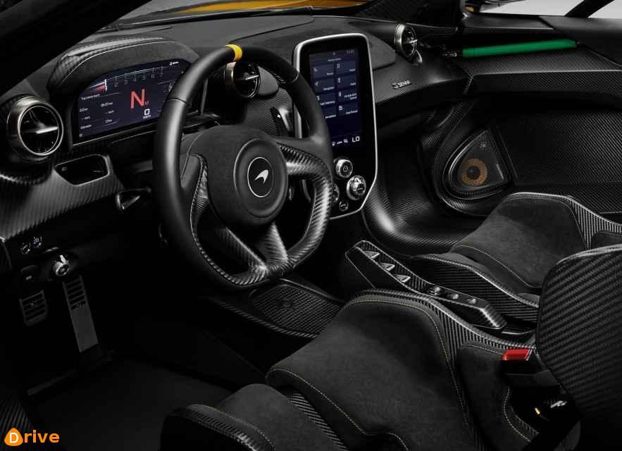 2019 McLaren Senna interior