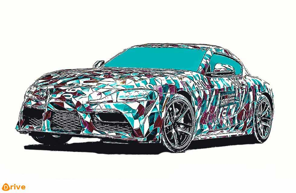 2019 Toyota Supra A90 illustration