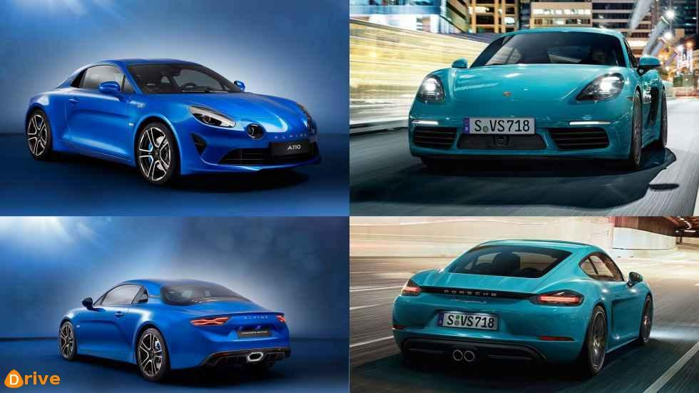 2019 Alpine A110 VS 2019 Porsche 718 Cayman