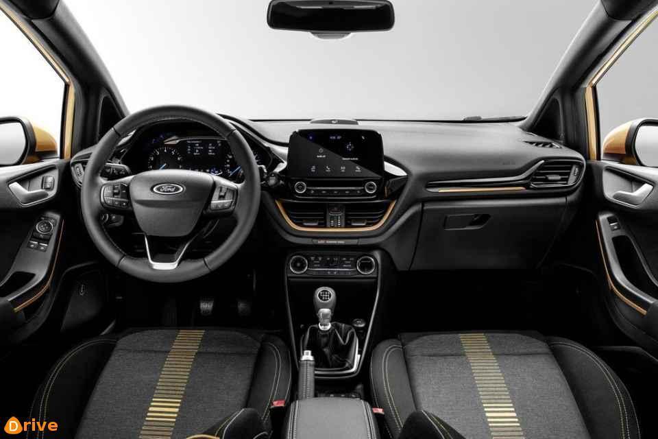 2018 Ford Fiesta Active interior